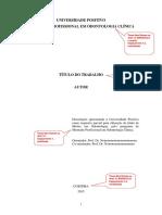 Modelo Da Dissertacao - Formato Alternativo
