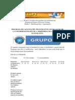 FORMATO DE EVALUACIÓN DEL PROYECTO Y GRUPO L