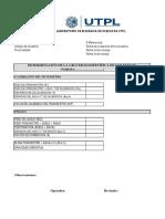 Gravedad Especifica - Zona 1 (CAE)
