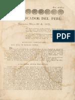 El Pacificador Del Perú 1821-05-20 (No.005)