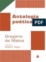 Antologia Poetica - Gregorio de Matos