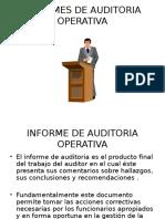 Informes de Auditoria Operativa