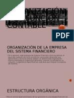 Organizacion y La Funcion Contable en Una Entidad Financiera