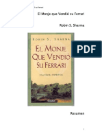 Libro El Monje Que Vendió Su Ferrari