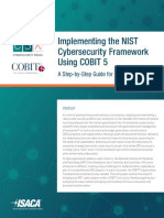 NIST Cybersecurity Framework Using COBIT 5 Res Eng 0517