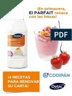170331 - NEWS - Primavera Parfait - 4 Recetas - CODIPAN