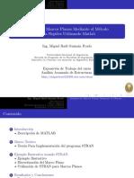 Análisis de Marcos Planos Mediante el Método de la Rigidez Utilizando Matlab