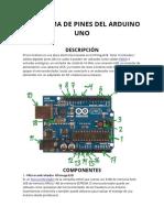 Diagrama Di Pines de Arduino Uno