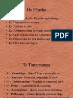 He Whakaputanga o Te Rangatiratanga o Nu Tireni