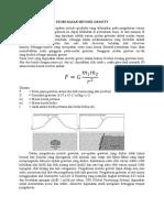 Teori Dasar Metode Gravity
