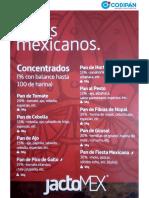 170324 NEWS JactoMex - Mixes Mexicanos - Codipan