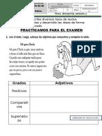 Ficha Adjetivos
