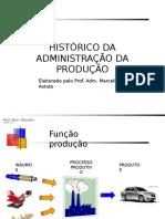 Historico Da Administracao Da Producao