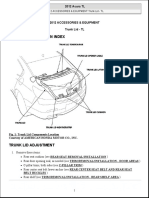 2012 Accessories & Equipment Trunk Lid - Tl