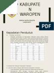 Konflik Kabupaten Waropen (Annisa Nadya Pradita)