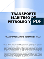 Transporte Maritimo de Petroleo y Gas Final