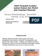 Model SEIRS Penyakit Scabies Pada Populasi Hewan Dan Populasi Manusia