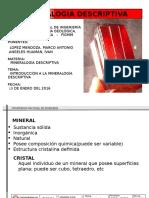 Clase Mineralogia i Sesión