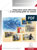 GPG279 Running Refrigeration Plant Efficiently