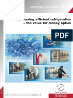 GPG278 Purchasing Efficient Refrigeration the Value for Money Option