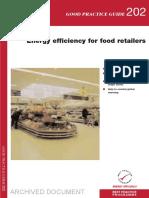 GPG202 Energy Efficiency for Food Retailers