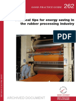 GPG262 Practical Tips for Energy Saving in the Rubber Processing Industry