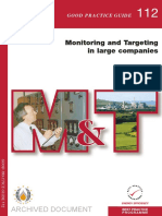 GPG112 Monitoring and Targeting in Large Companies