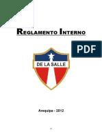 Reglamento Colegio La Salle Arequipa 2012