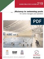 GPG219 Energy Efficiency in Swimming Pools