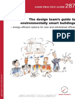 GPG287 the Design Team%e2%80%99s Guide to Environmentally Smart Buildings %e2%80%93 Energy Efficient Options for New and Refurbished Offices