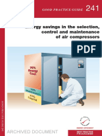 GPG241 Energy Savings in the Selection%2c Control and Maintenance of Air Compressors