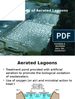 Microbiological Process in Aerated Lagoons