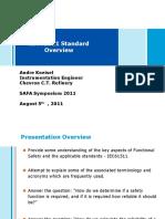 SAFA Presentation-IEC61511 Overview-A Kneisel