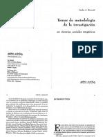 Borsotti - Temas de metodología de la  investigación en ciencias sociales empíricas