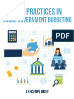 Best Practices Local Gov Budgeting WP