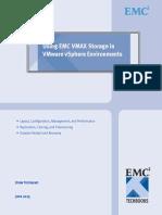 Using EMC VMAX Storage in VMware VSphere Environments