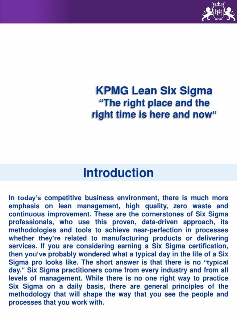 Henryharvin 1444109659 Accountingpdf Six Sigma Lean Manufacturing
