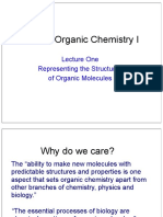 Organic Chemistry Lecture One 2014 Representing Structures