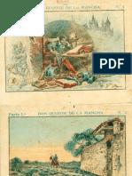 Coleccion Cromos Don Quijote de La Mancha Año 1897 - Primera Parte (by Drasen)