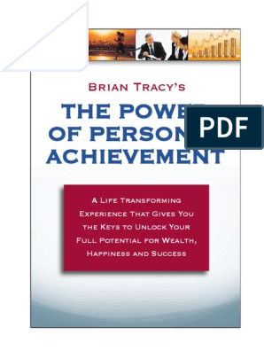 The Power Of Personal Achievement: Brian Tracy's
