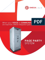 Page Party System