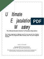 (eBook) Tantric Sex - Ultimate Ejaculation Control