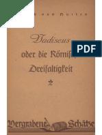 Hutten, Ulrich von - Vadiscus oder die Römische Dreifaltigkeit; Ludendorffs Verlag, Vergrabene Schätze,.pdf
