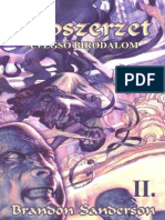 Brandon Sanderson - Ködszerzet II - A végső birodalom