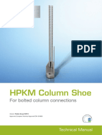 Peikko HPKM Column Shoe Technical Manual