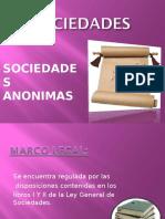 SOCIEDADES ANONIMAS