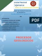 GEOLOGÍA  (Procesos y Ciclos Geológicos)