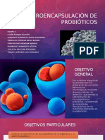 Microencapsulación de Probióticos Equipo 3