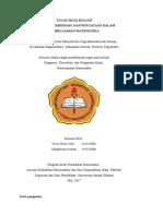TUGAS MK Diagnosis Dan Remediasi Dlm Pemb Mat-2018 Fix 2013