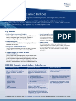 MSCI Global Islamic Indices